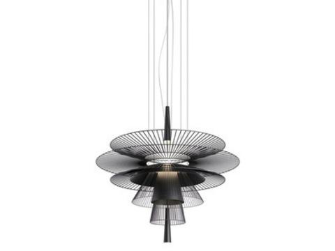 Подвесной светильник копия GRAVITY (M) by Forestier (черный)