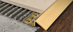 Профили/Пороги Progress Proslider PDOL 125 для напольных покрытий из ламината, паркета, керамогранита, ковролина, линолеума