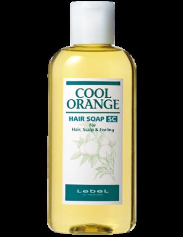 Шампунь для волос COOL ORANGE HAIR SOAP SUPER COOL, 200 мл.