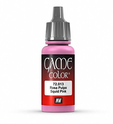 Game Color Squid Pink 17 ml.