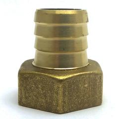 Штуцер латунный 1/2 В  14 мм.