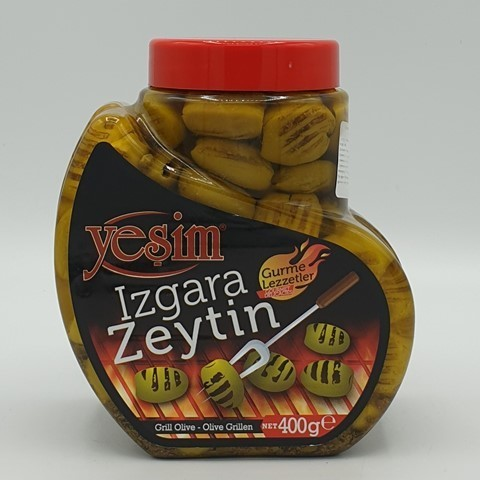 Оливки гриль в масле YESIN, 400 гр