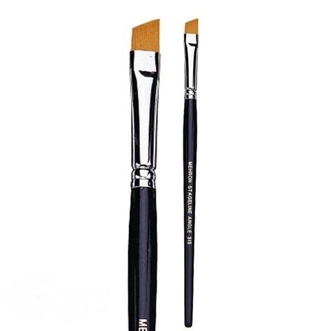 MEHRON Кисть угловая 5/16 inch Angled Brush, 8 мм