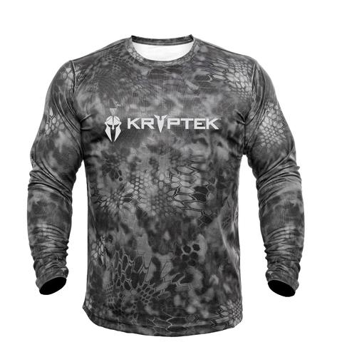 Футболка KRYPTEK HYPERION LS CREW с логотипом Raid™