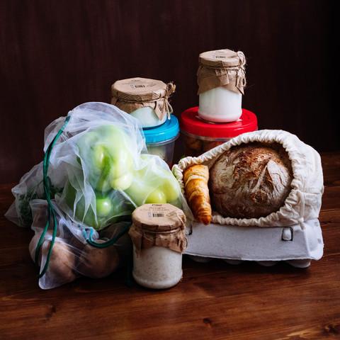 Корзина продуктов МИНИ (вегетарианская)