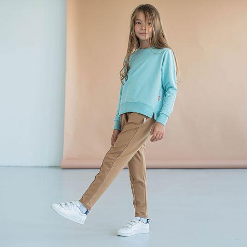 Peg trousers for teens - Desert Sand