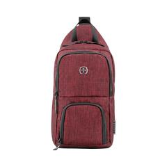 Рюкзак Wenger Urban Contemporary, с одним плечевым ремнем, бордовый, 19х12х33 см, 8 л