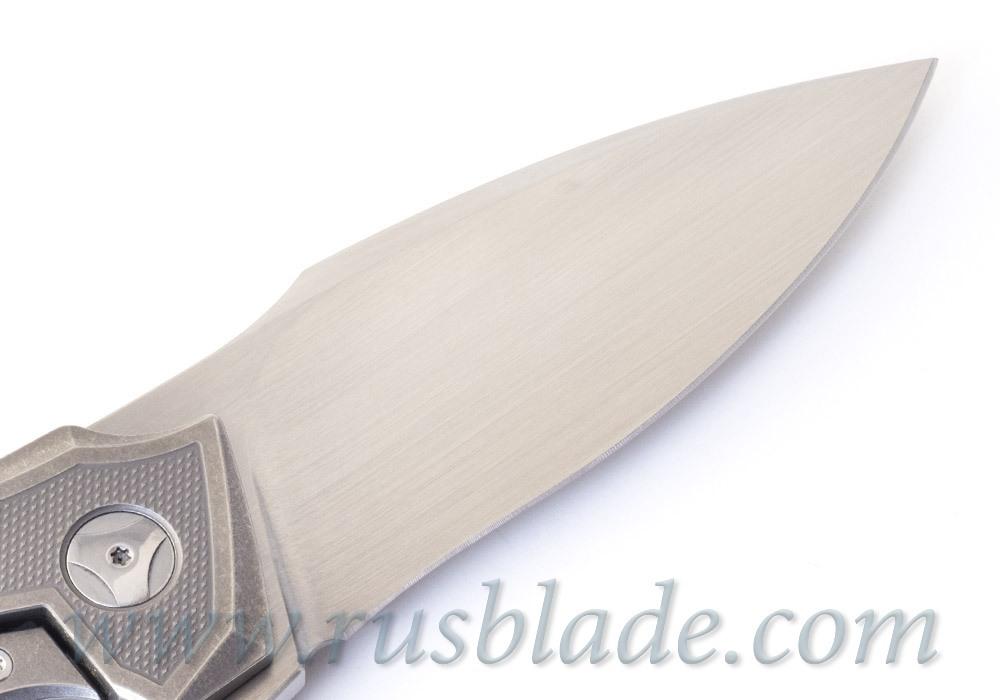 Muscle Satin CKF and Tashi Bharucha NEW Knife Limited - фотография