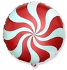 круг фольга 46 см с рисунком