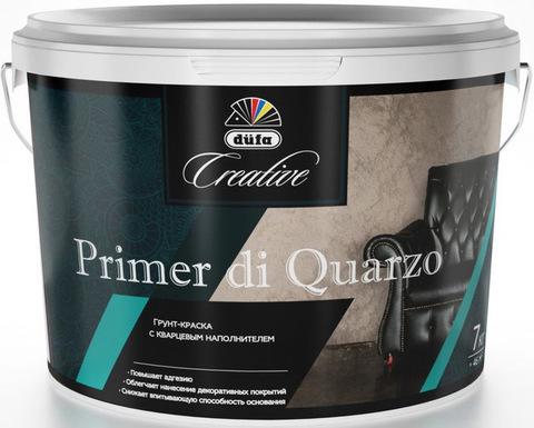 Dufa Creative Primer Di Quarzo/Дюфа Креатив Праймер Ди Кварцо Грунт-краска с кварцевым наполнителем
