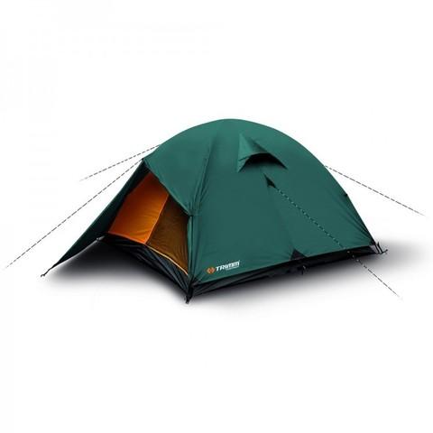 Туристическая палатка Trimm OHIO, 2+1 (зеленая)
