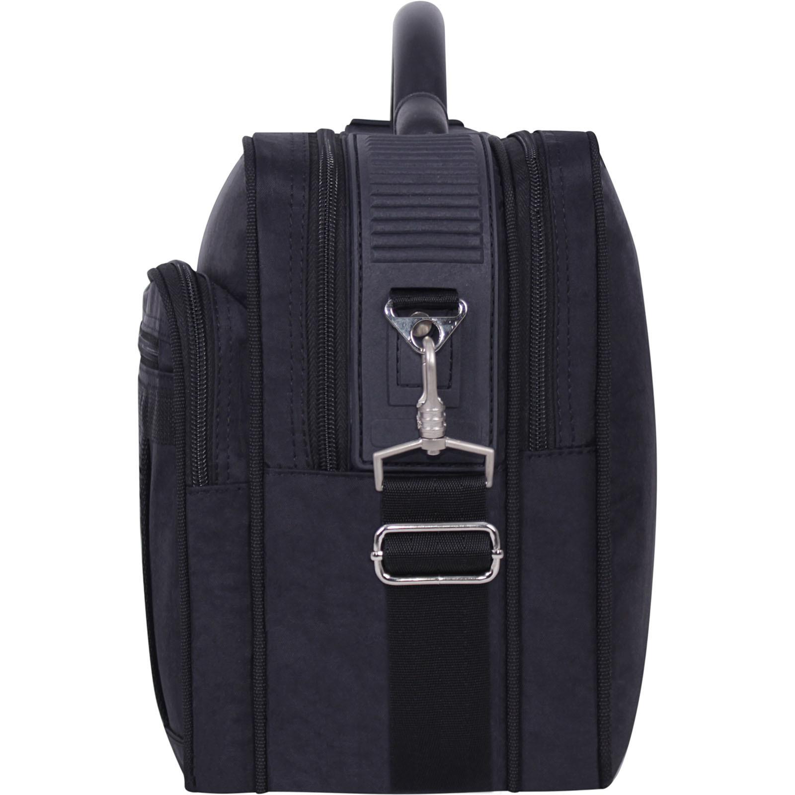 Мужская сумка Bagland Mr.Cool 15 л. Чёрный (0025170) фото 4