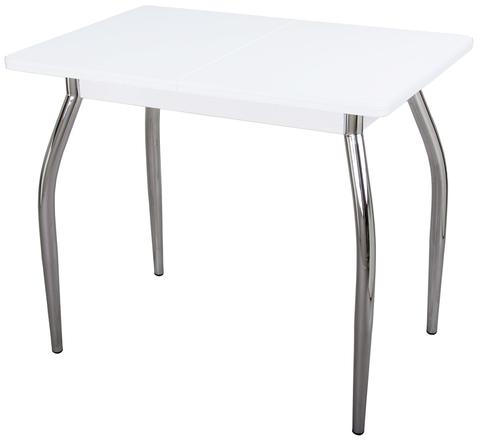 Обеденный раздвижной стол из дсп и искусственного камня Реал М КМ