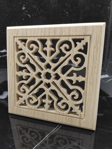 Решетка декоративная деревянная на магнитах Пересвет К-13 150х150мм