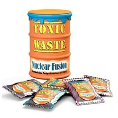 Кислые леденцы Toxic Waste Nuclear Fusion 42 гр
