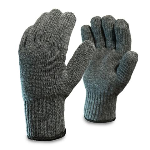 Перчатки шерстяные одинарные
