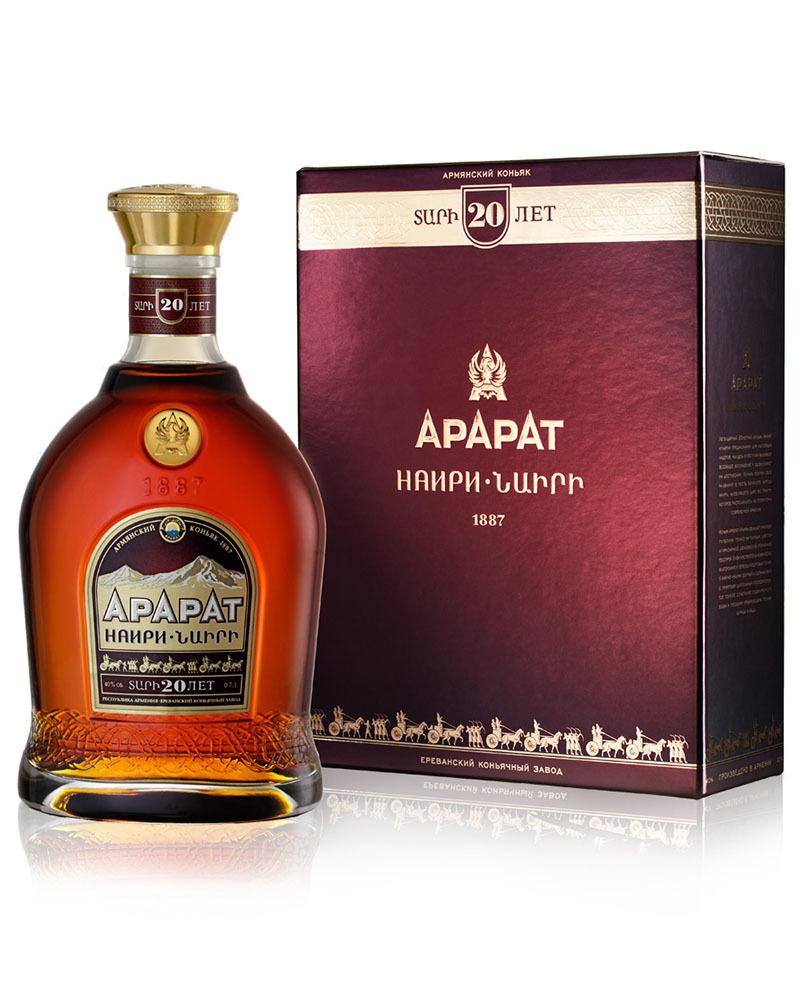 Коньяк Ararat Наири 20 лет 40%, 0,7 л.