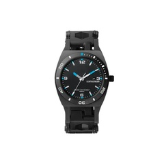 Часы-мультитул Leatherman Tread Tempo LT Black, узкий, 28 функций (832517) цвет чёрный | Multitool-Leatherman.Ru