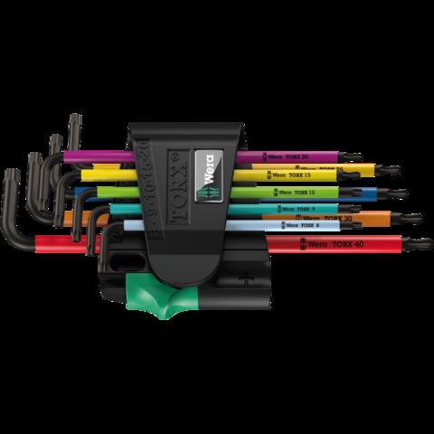 Набор Г-образных ключей, BlackLaser 967/9 TX BO Multicolour 1