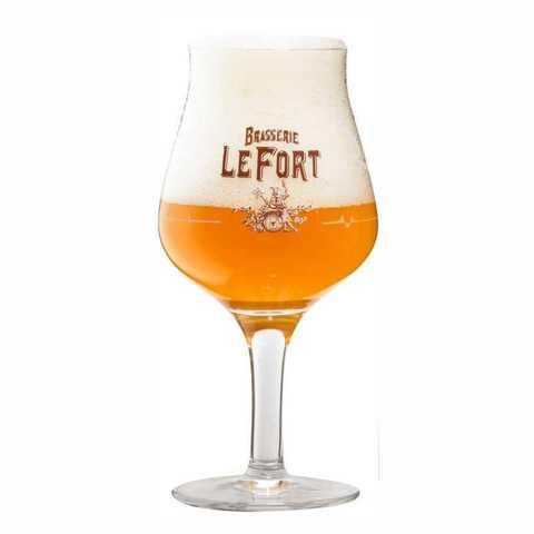 Набор из 4 бокалов для пива LeFort Tripel (2 риски), 500 мл