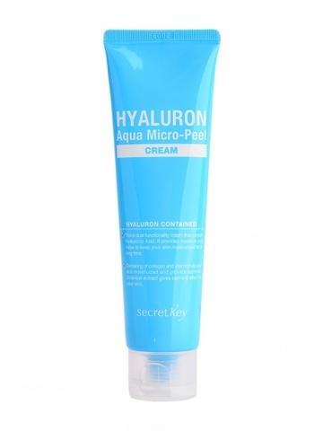 Крем гиалуроновый Secret Key  Hyaluron Aqua micro-peel Cream,70 мл