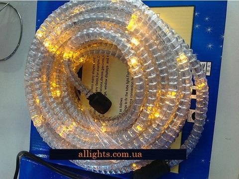 Гофрированный шланг дюралайт желтый светодиодный купить 10 метров