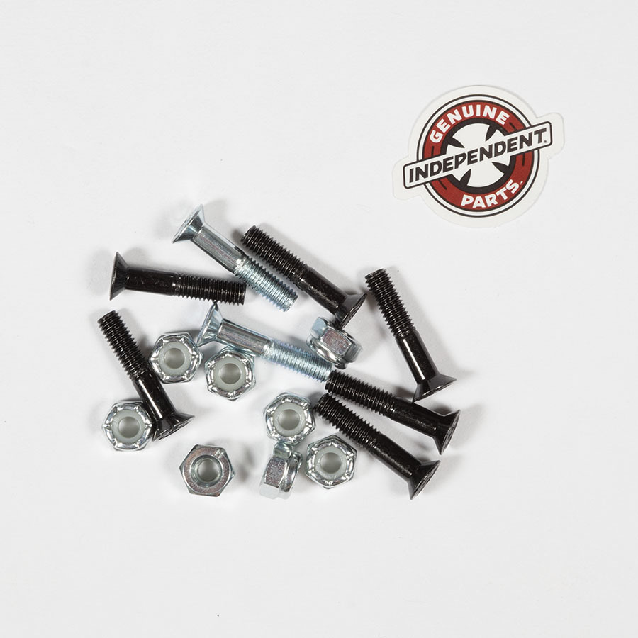 Болты для скейтборда INDEPENDENT Phillips Hardware (Black/Silver)