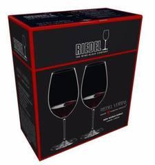 Набор из 2-х бокалов для вина Riedel New World Shiraz, Riedel Veritas, 650 мл, фото 4