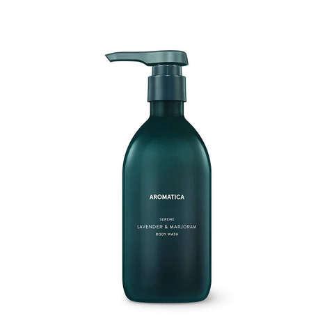 AROMATICA Гель для душа с лавандой и майораном Serene Body Wash Lavender & Marjoram 300ML