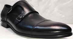Весенние мужские туфли классика Ikoc 2205-1 BLC.