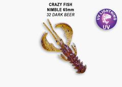 Силикон CRAZY FISH NIMBLE 2,5