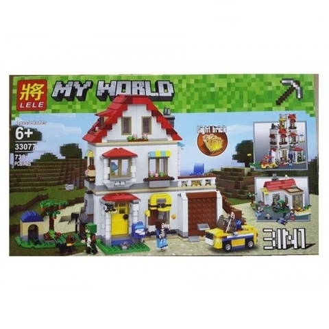 Конструктор My World 33077 Дом на побережье
