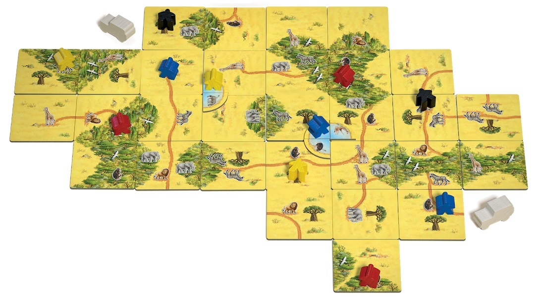 Настольная игра Каркассон: Сафари поле