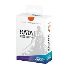 Протекторы Ultimate Guard Katana оранжевые (100 штук)