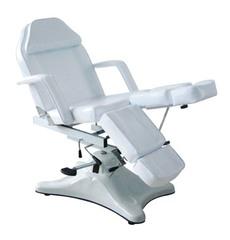 Педикюрное кресло МД-823А, гидравлика цвет белый