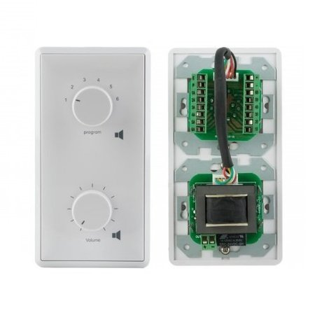 Селектор программ с регулятором громкости AT-236