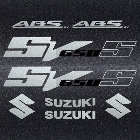 Набор виниловых наклеек на мотоцикл SUZUKI SV 650S 2006
