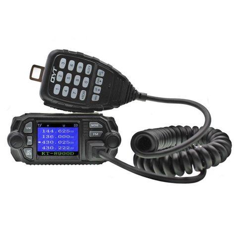 Автомобильная рация QYT QT-8900D Quad Display