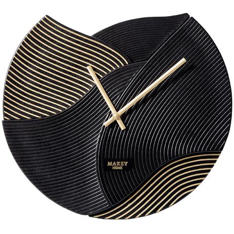 Часы настенный «Deco». Цвет черный