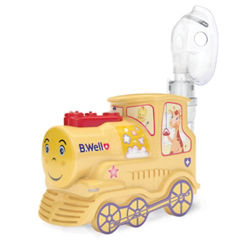 Ингалятор(небулайзер) детский «Паровозик» B.Well PRO-115, маски (взрослая, детская, младенческая