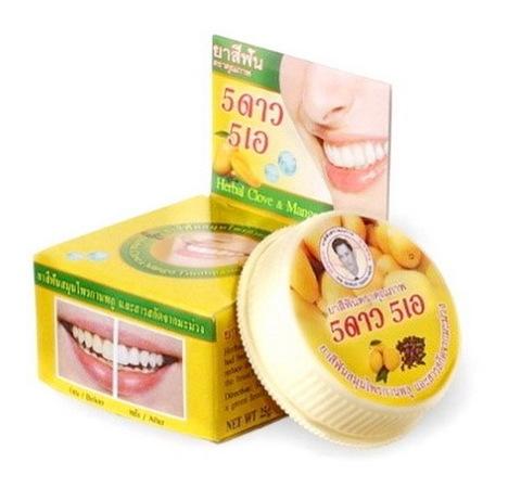 Концентрированная отбеливающая зубная паста с экстрактом