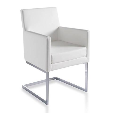 Кресло BZ090 белое