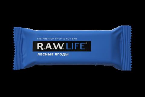 Батончик R.A.W. LIFE Лесные ягоды 47 гр