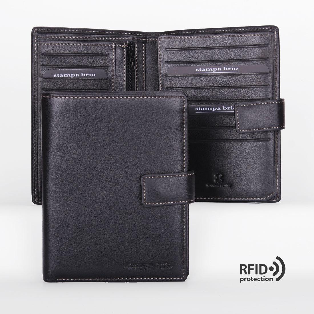 604 R - Портмоне вертикальное 5в1 с RFID защитой