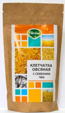 Клетчатка овсяная с семенами чиа, 150 гр. (Флорина)