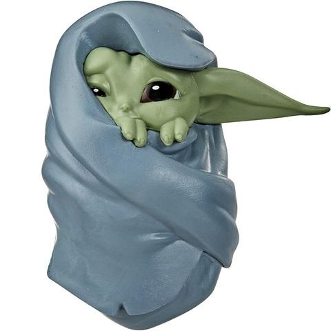 Звёздные войны: Мандалорец Малыш Йода 6 см Обернутый в Одеяло