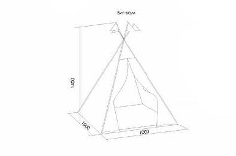 НОРДИК игровой шатер-вигвам