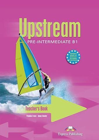 UPSTREAM PRE-INTERMEDIATE Teacher's book — книга для учителя