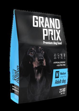 Сухой корм Сухой корм для взрослых собак средних пород, Grand Prix Medium Adult 73168.jpeg