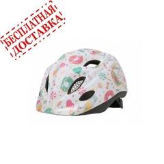 Велошлем Polisport Kids Premium Lolipops с флягой и держателем
